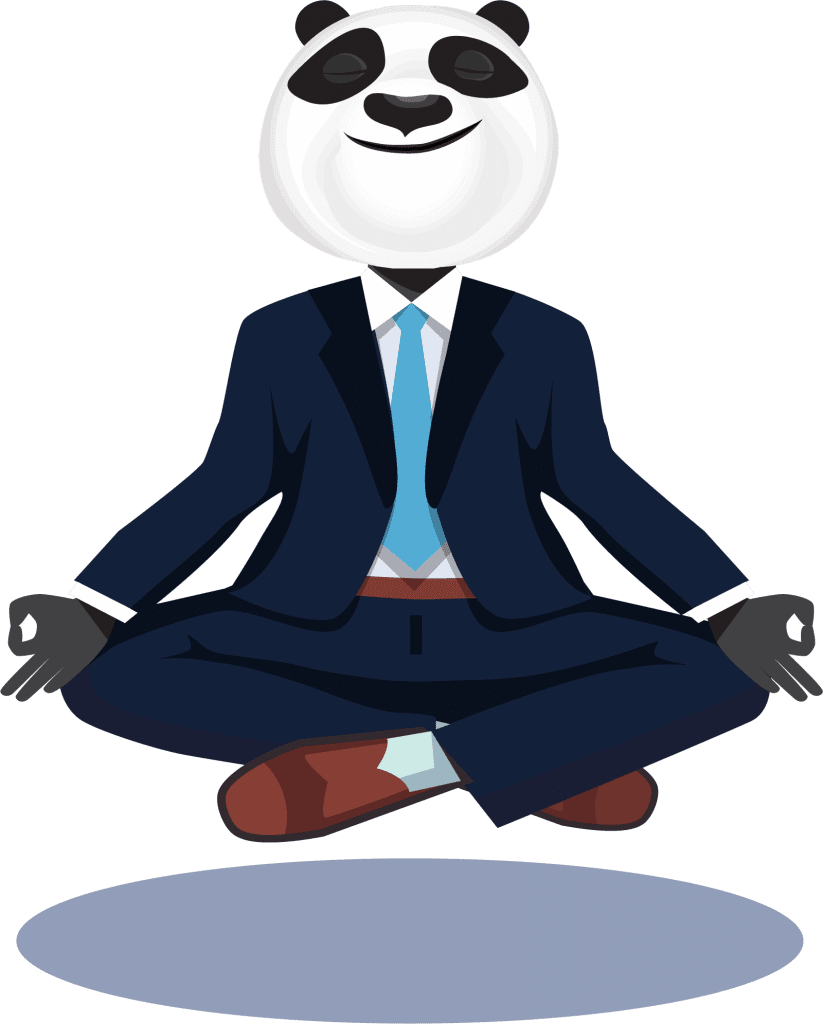 Panda Man Meditation