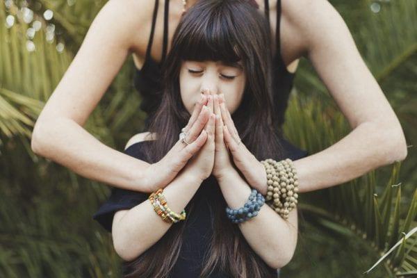 Children meditation mindfulness