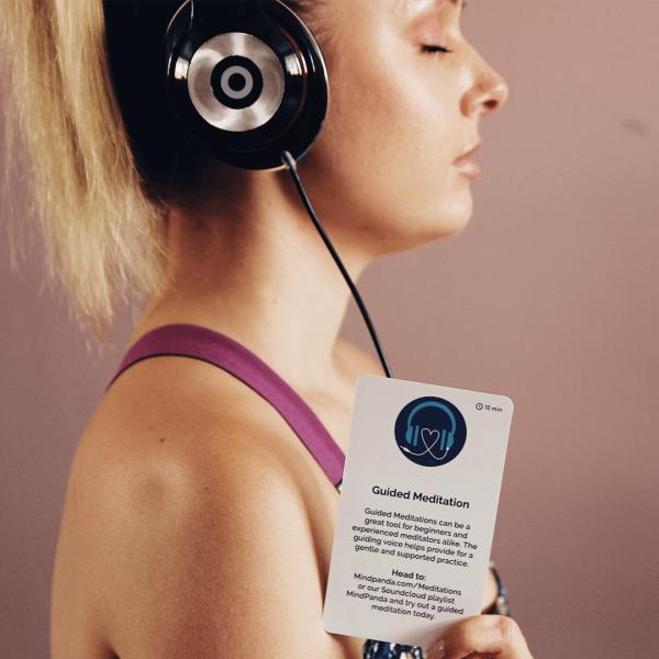Meditation cards pack