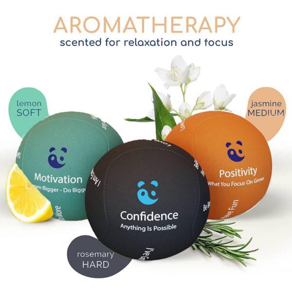 Motivation Stress ball aromatherap